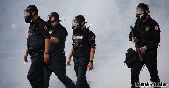 BDP'nin Aksaray'daki eylemine sert müdahale