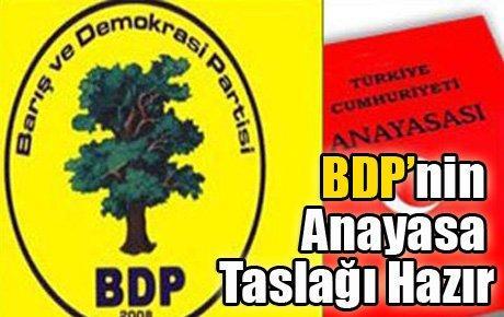 BDP'nin Yeni Anayasa Taslağı Hazır