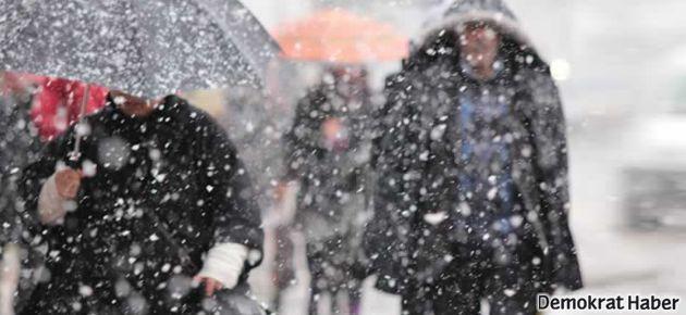 Beklenen kar bugün geliyor!