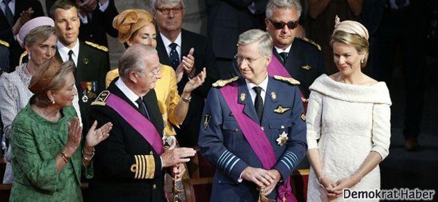 Belçika'nın yeni kralı Philippe oldu