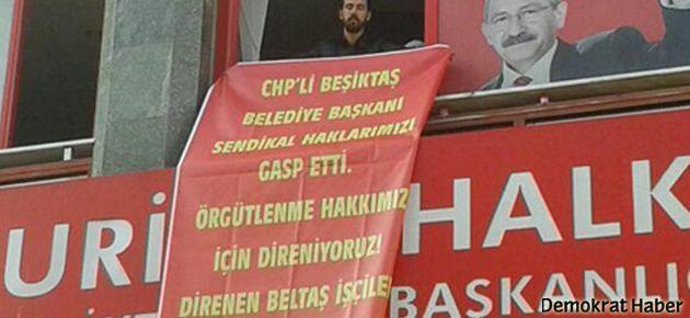 Beltaş işçilerinin protestosu sabaha kadar sürdü