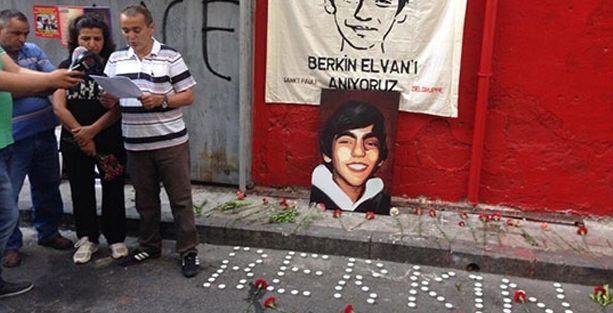 Berkin vurulduğu yerde anıldı