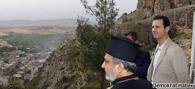 Beşar Esad Hıristiyan kasabasında Paskalya kutladı