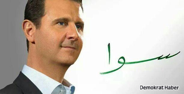 Beşar Esad'ın seçim sloganı: Sawa!