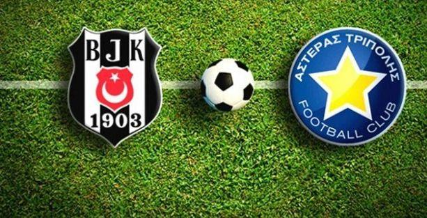 Beşiktaş 1 - 1 Asteras