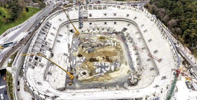 Beşiktaş'ın stat inşaatı mühürlendi