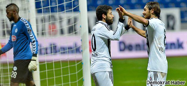 Beşiktaş moral depoladı