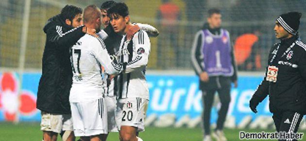 Beşiktaş'ta maç sonu kavga ve küfür