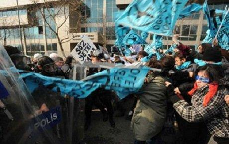 Beşiktaş'ta öğrenciye polis müdahalesi