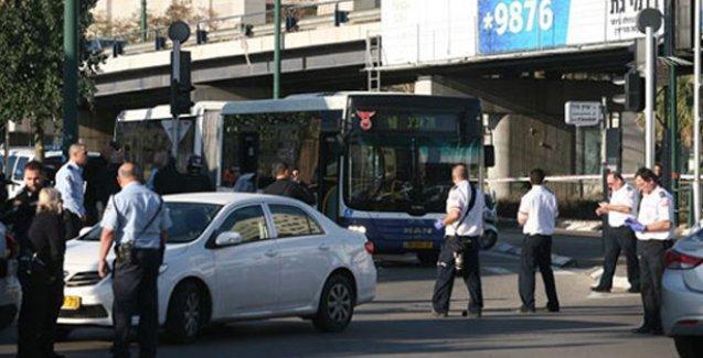 İsrail'de otobüse bıçaklı saldırı: 16 yaralı