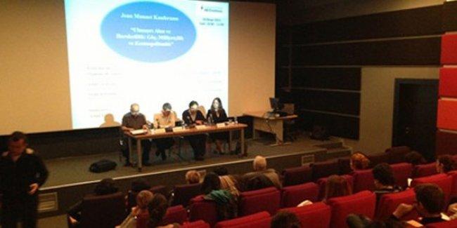 Bilgi Üniversitesi'ndeki Ermeni Soykırımı konferansına engel