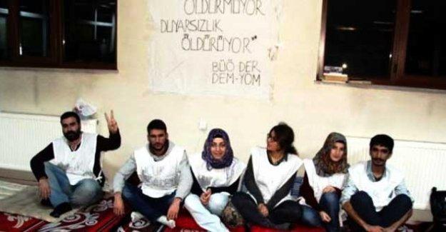 Bingöl Üniversitesi'ndeki açlık grevi 6. gününde