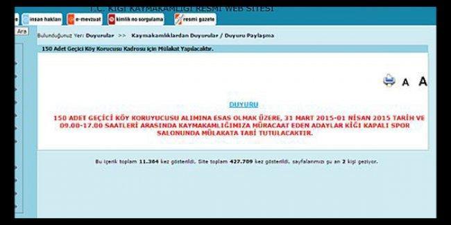 Bingöl ve Elazığ'a 300 korucu alımı yapıldı; HDP, 'Neden?' diye sordu