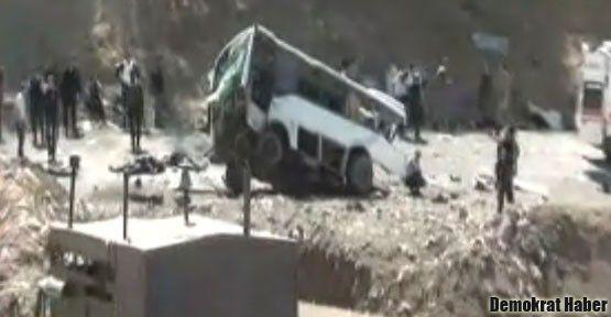 Bingöl'de 8 polis öldürüldü