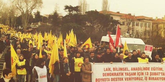 'Laik, Bilimsel, Anadilde Eğitim' için Kadıköy'de toplandılar