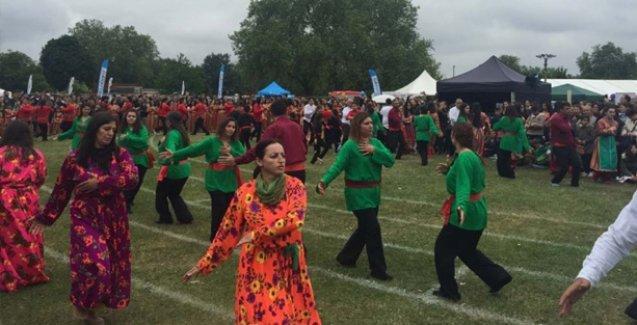Binler Alevi Festivali'nde buluştu