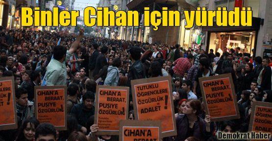 Binler Cihan için yürüdü: Puşi kimliktir, özgürlüktür!