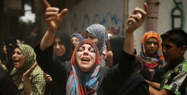 Binlerce Gazzeli evlerini terk ediyor