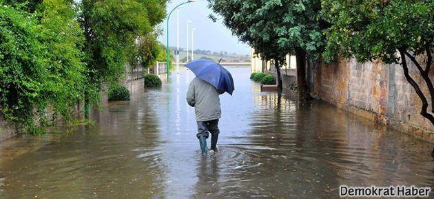 Bir aylık yağmur 24 saatte yağabilir