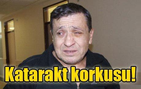 Bir katarakt faciası da İzmir'de