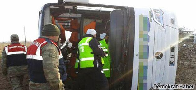 Bir otobüs faciası daha: 9 kişi öldü