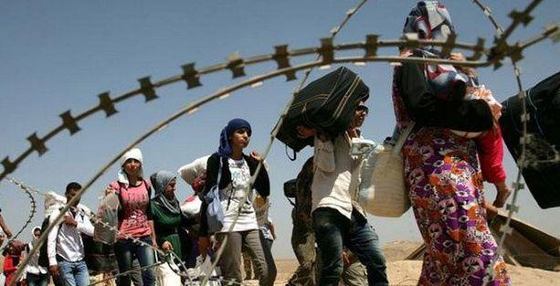 Bir yılda 50 milyondan fazla insan evlerini terk etmek zorunda kaldı