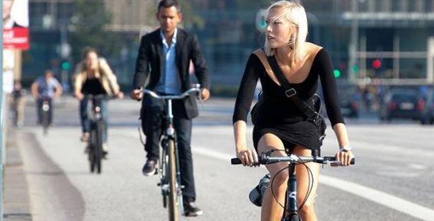 Bisikletle işe gidenler daha az stres yaşıyor