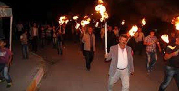 Bismil'de IŞİD protestosuna polis müdahale etti, çatışma çıktı