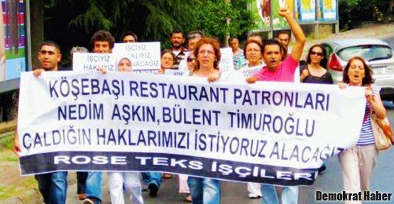 'Bizi açlığa mahkum edenler, lüks lokantada iftar açıyor'
