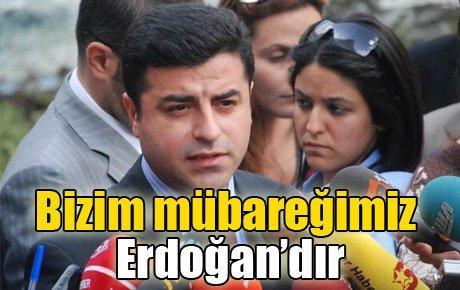 Bizim mübareğimiz Erdoğan'dır