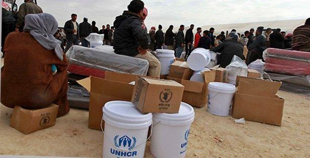 BM, 'bağışçılara küstü' 5 ülkede Suriyeli sığınmacılara gıda yardımını durdurdu!