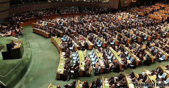 BM'de skandal: Katliamcıların marşı çalındı!