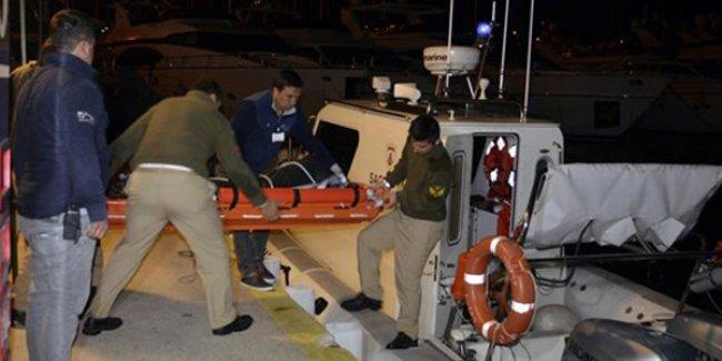 Bodrum'da denizde başı ve kolları olmayan bir ceset bulundu