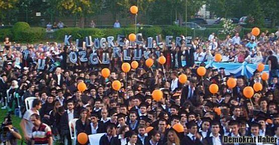 Boğaziçi'nden tutuklu öğrencilere destek