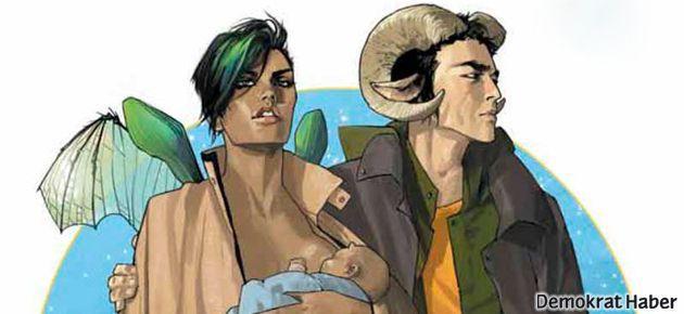 Bol ödüllü Saga çizgi romanı Türkçe'de