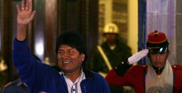 Bolivya'da solun zaferi