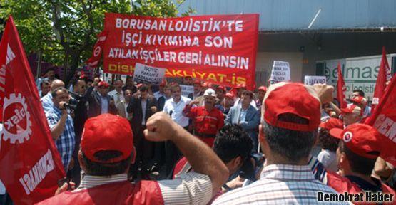 Borusan Lojistik işçileri kazandı!