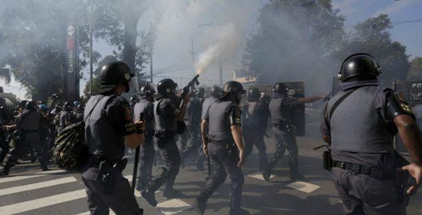 Brezilya'da Dünya Kupası öncesi çatışmalar