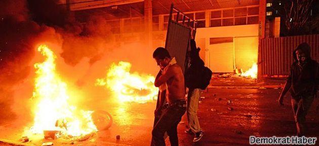 Brezilya'da yine protesto gösterisi