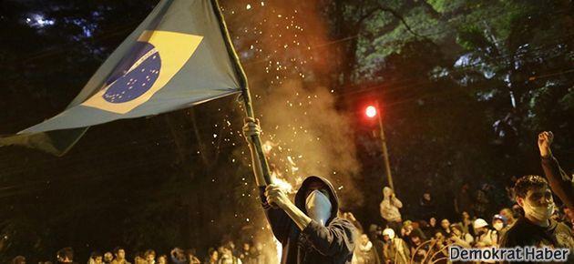 Brezilyalı göstericiler: Türkiye'deki eylemlerden etkilendik