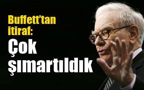 Buffett'tan itiraf: Çok şımartıldık