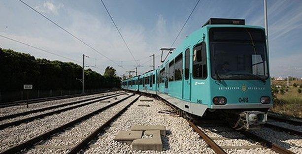 Bursa'ya 30 yıllık  ikinci el metro