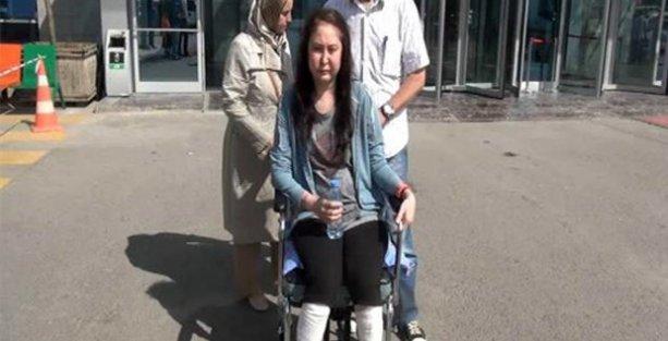 Burun ameliyatı oldu, 2 bacağını kaybetti!