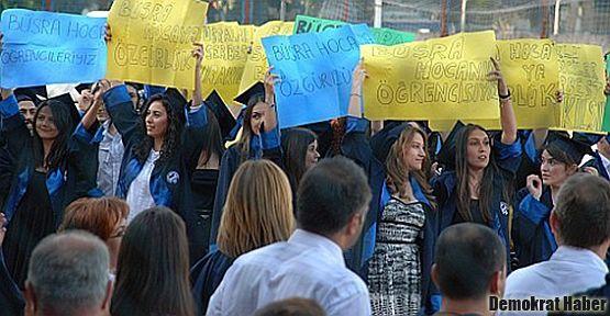 'Büşra hocam biz mezun olduk'