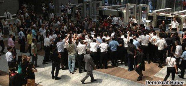 Çağlayan Adliyesi'ne 'Gezi' müdahalesi