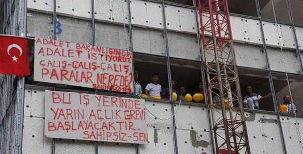 İşçiler isyanda 'Çalış çalış paralar nerede'