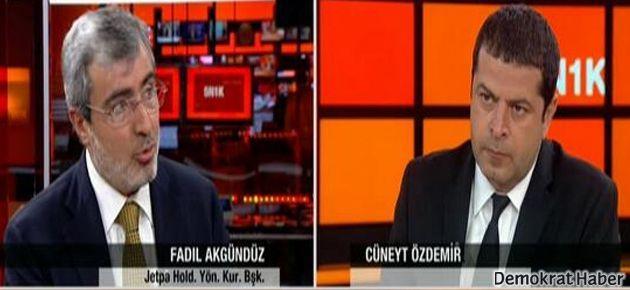 Canlı yayınında Cüneyt Özdemir'e rüşvet teklifi