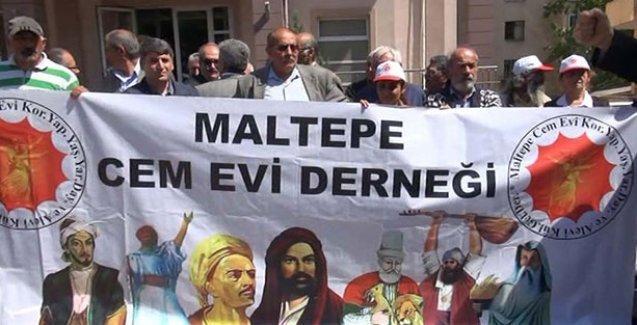 Cemevini ibadethane sayan kararı yargıya taşıyan kaymakama Alevilerden protesto