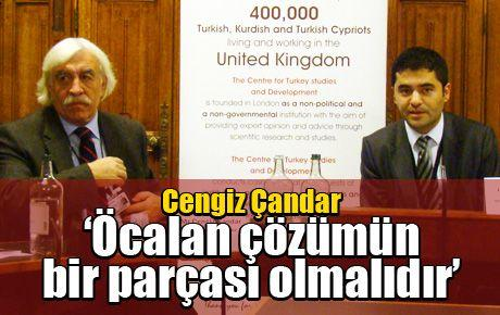 Cengiz Çandar 'Öcalan çözümün bir parçası olmalıdır'