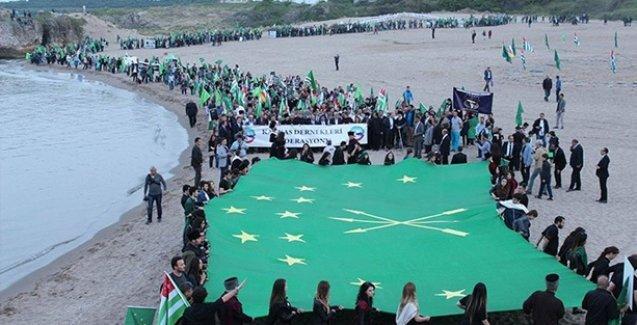 Çerkes Soykırımı Kocaeli'de protesto edildi